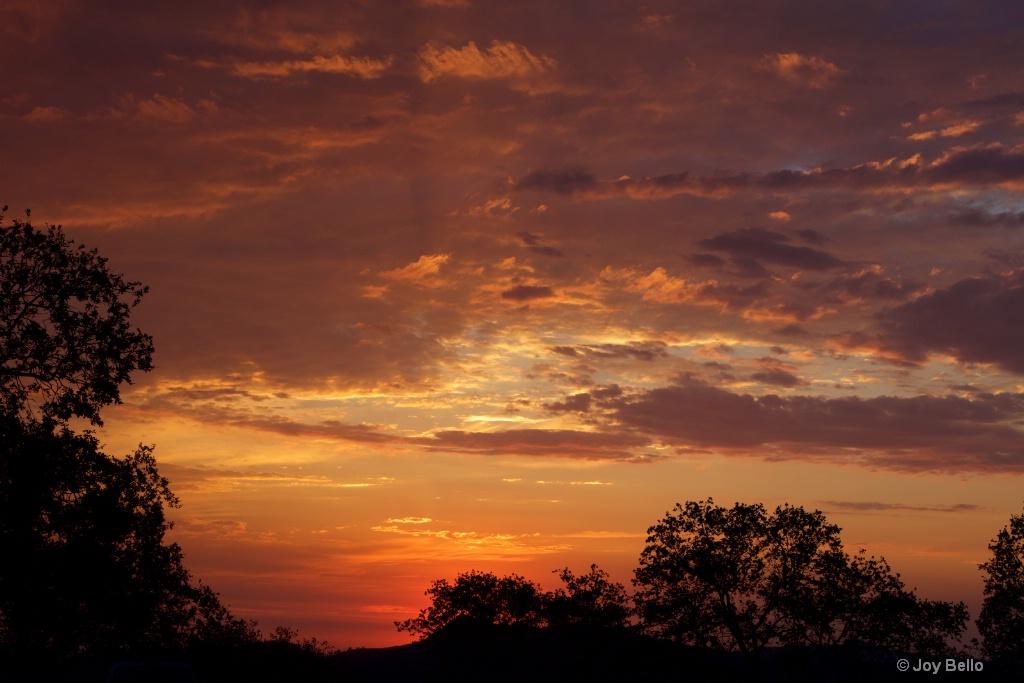Brilliant August Sunset
