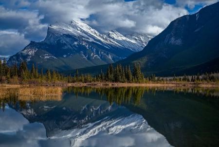 Mt Rundle of Banff