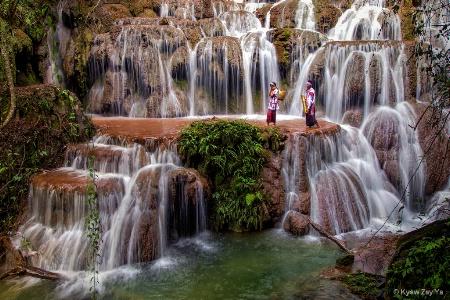Taww-kyal Waterfall