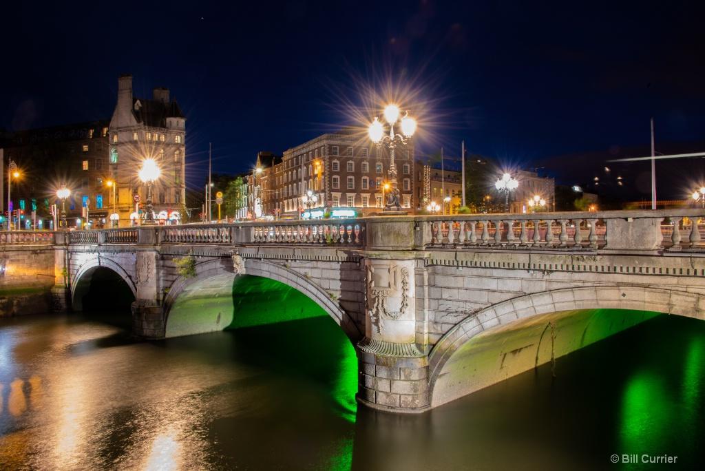 O'Connell Bridge - Dublin Ireland - ID: 15594897 © Bill Currier