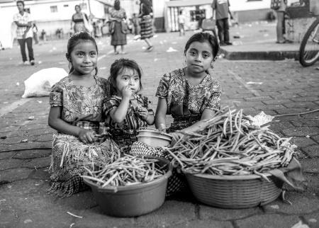 Vendors in Guatemala