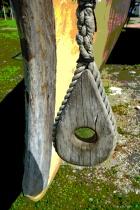 Block & Bow of a Polynesian Canoe DSC 1714 poster2