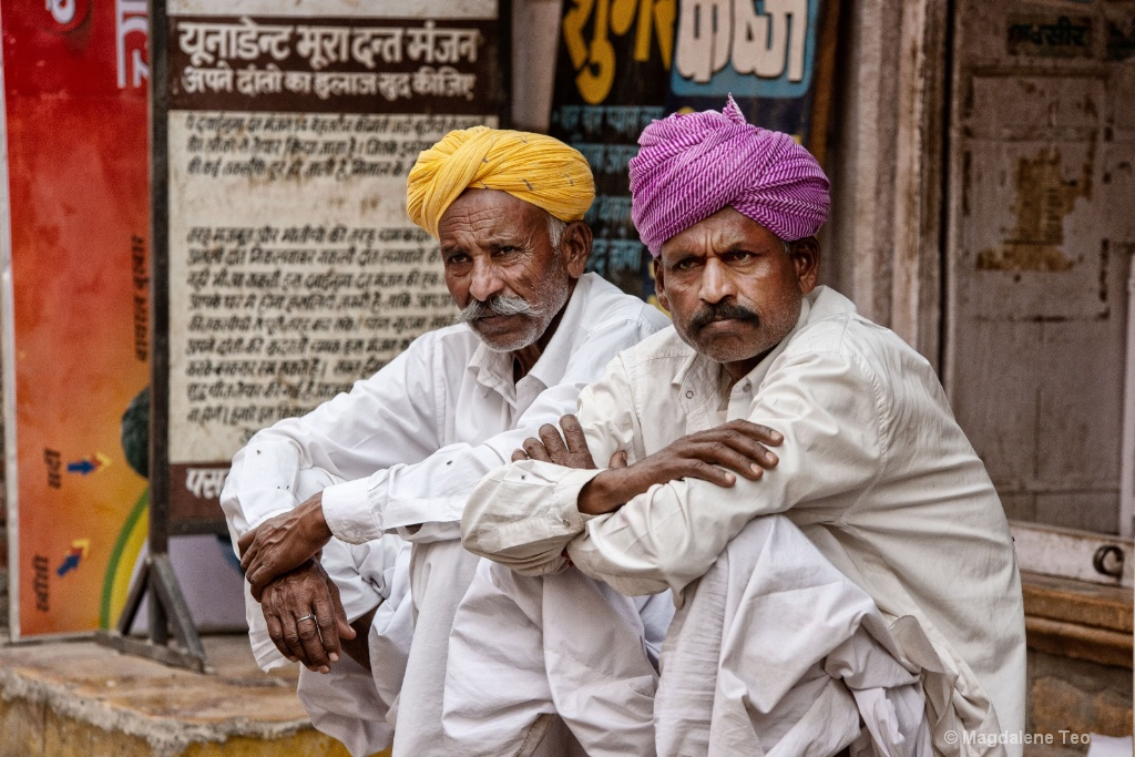 Flashback Travel to Rajasthan India - People II - ID: 15596435 © Magdalene Teo