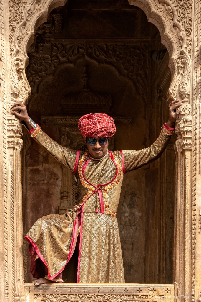 Flashback Travel to Rajasthan India - People  - ID: 15596436 © Magdalene Teo