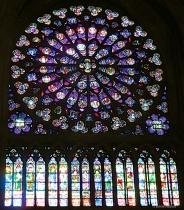 South Rose Window Notre-Dame