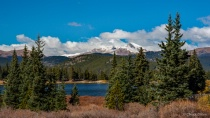 Mt Evans in the Fall