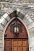 Brown Church Door