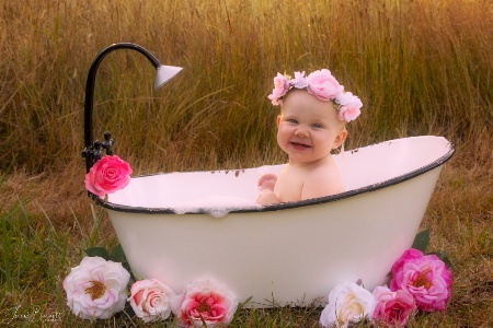 Saturday Night Bath...Girlie Style