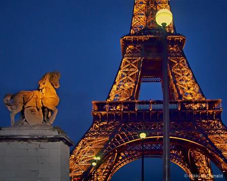 La Tour Eiffel from the Pont d'Iéna