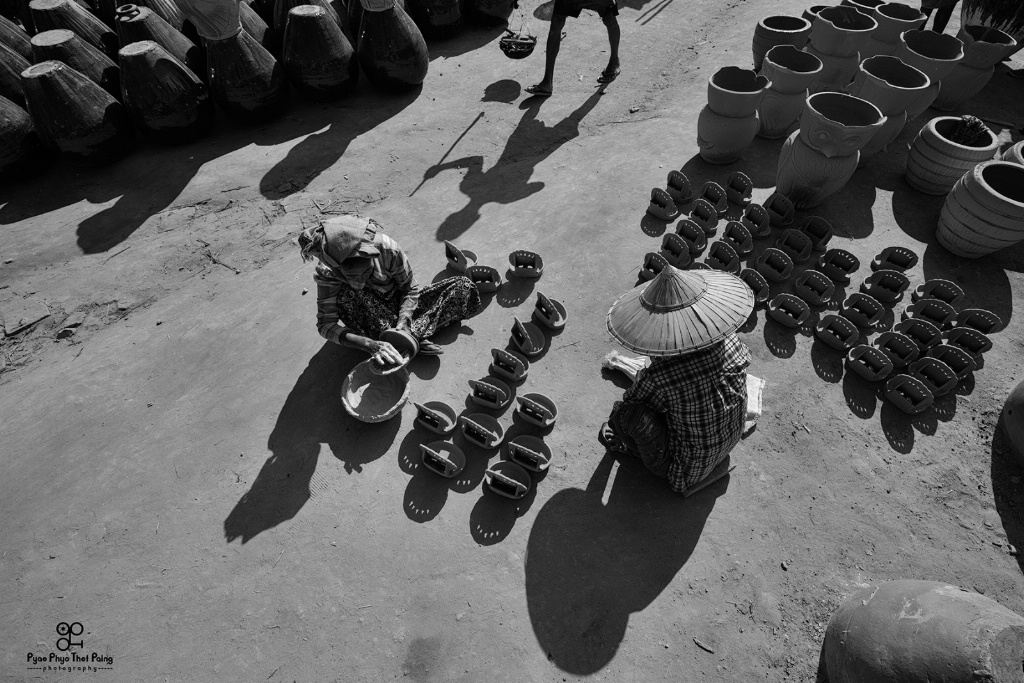 Pot and Shadow - ID: 15609039 © Pyae Phyo Thet Paing
