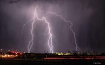 East Tucson lightning
