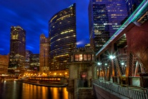 Lake Street Bridge Blue Hour