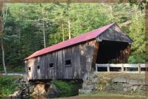 The Dalton Covered Bridge . .