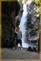 Love at the Water Falls    .  .  .