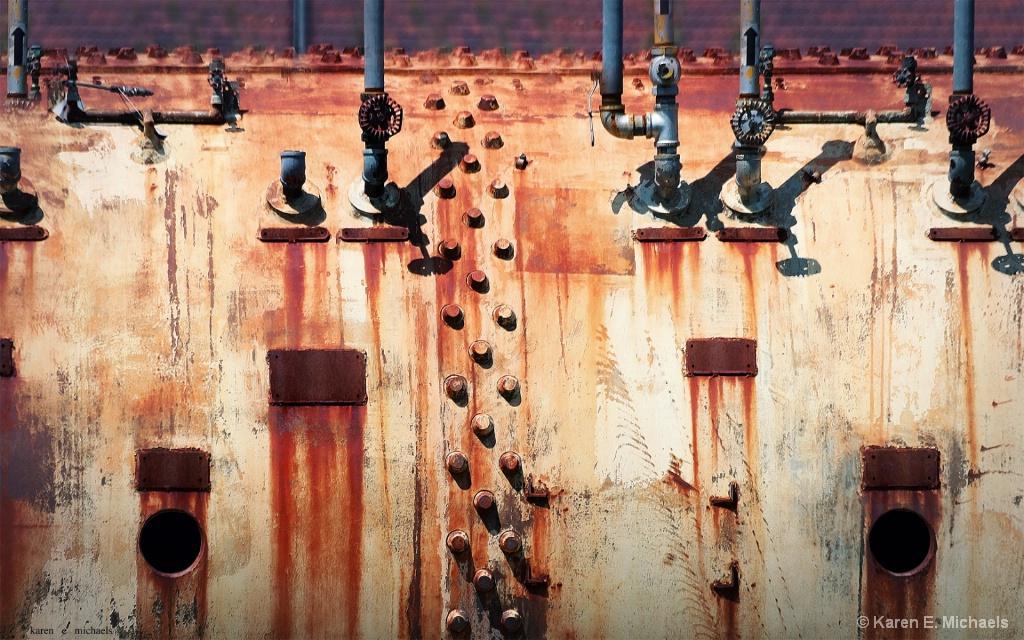 tank and valves - ID: 15612862 © Karen E. Michaels