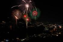 Composite Hanabi Fireworks Nagasaki Japan