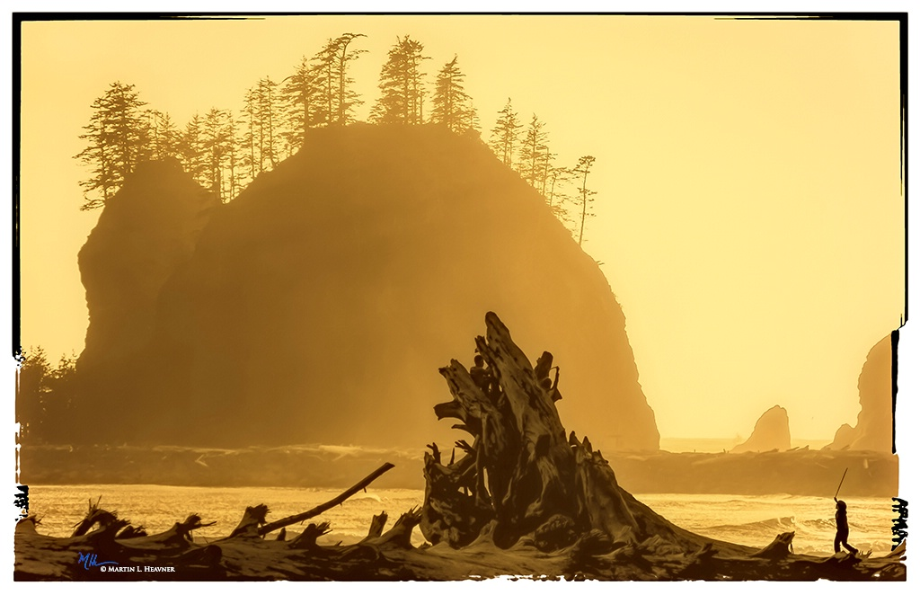 Storming the Castle - Quileute Beach, WA - ID: 15613677 © Martin L. Heavner