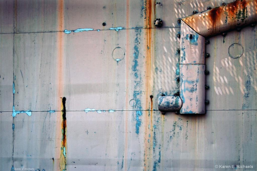 metal oxidation - ID: 15614147 © Karen E. Michaels