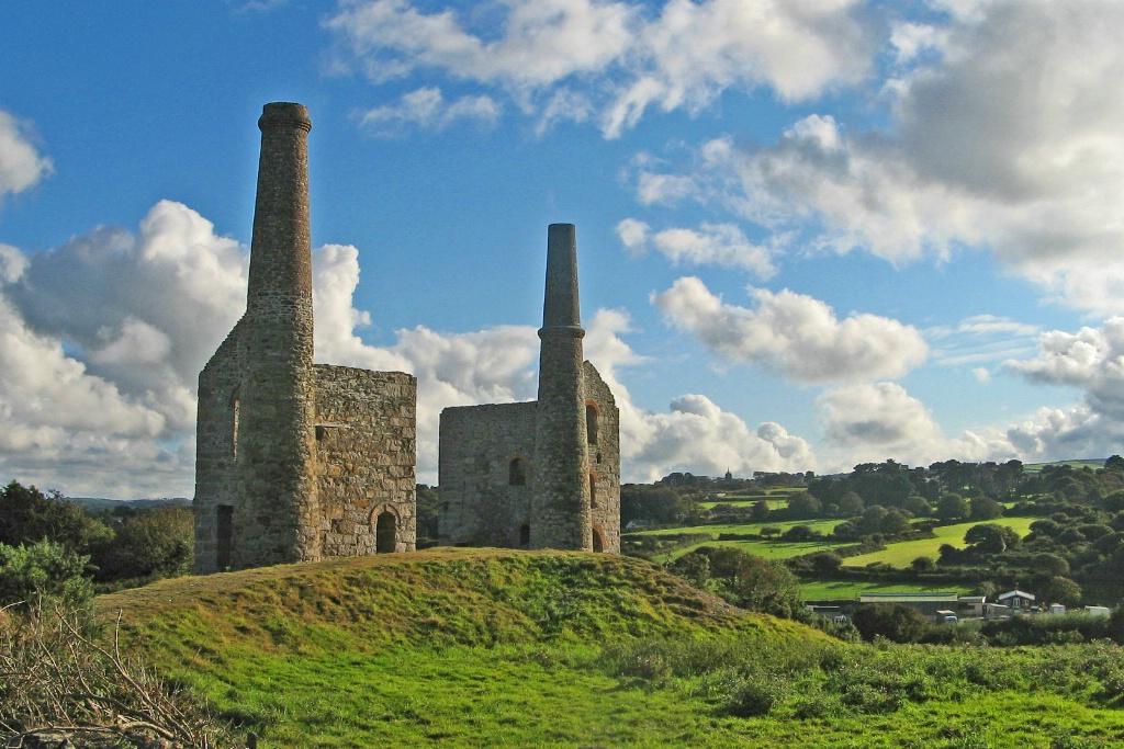 Cornish Tin Mine Wheelhouses.