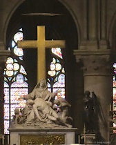 Pieta framed