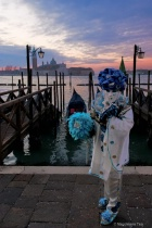 Venice Carnival: Portraits Series -  Sunrise
