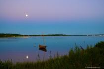 Twilight Lavender over Indigo Bay