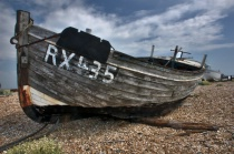 Wreck in Dungeness