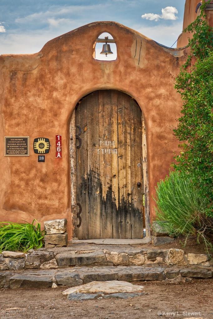 Taos Doorway - ID: 15620841 © Kerry L. Stewart
