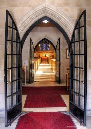 Inside of Knox Presbyterian church