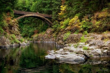 Moulton Falls Foot Bridge