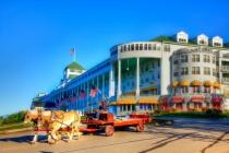 """Mackinac Island """"Trucking"""""""