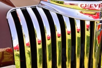 Reflections in Chrome Stripes