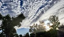 surprising september sunset