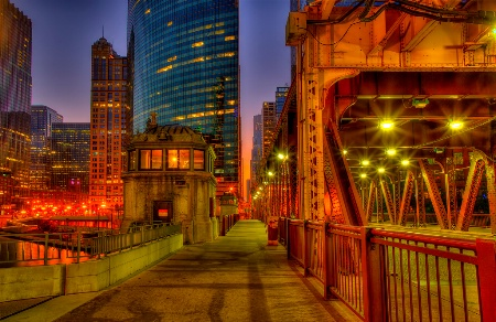 Lake Street Bridge Path