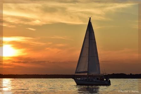 Sunset Sailing