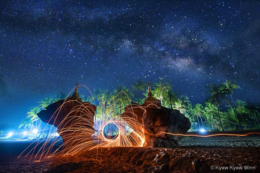Night at Ngwe Saung