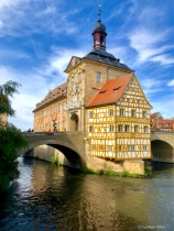 Altes Rathaus Sideview in Bamberg