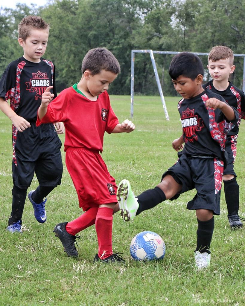 Soccer Saturday - ID: 15630467 © Sandra K. StJohn