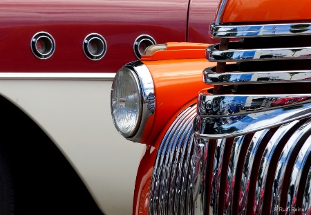 Old truck grill design