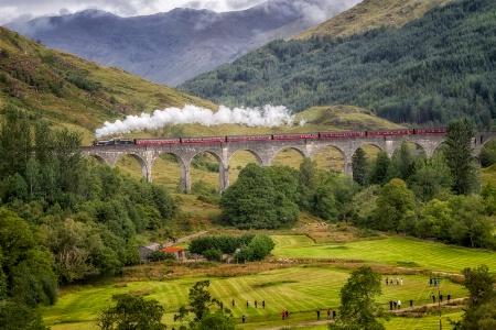 Jacobite Steam Train  7202