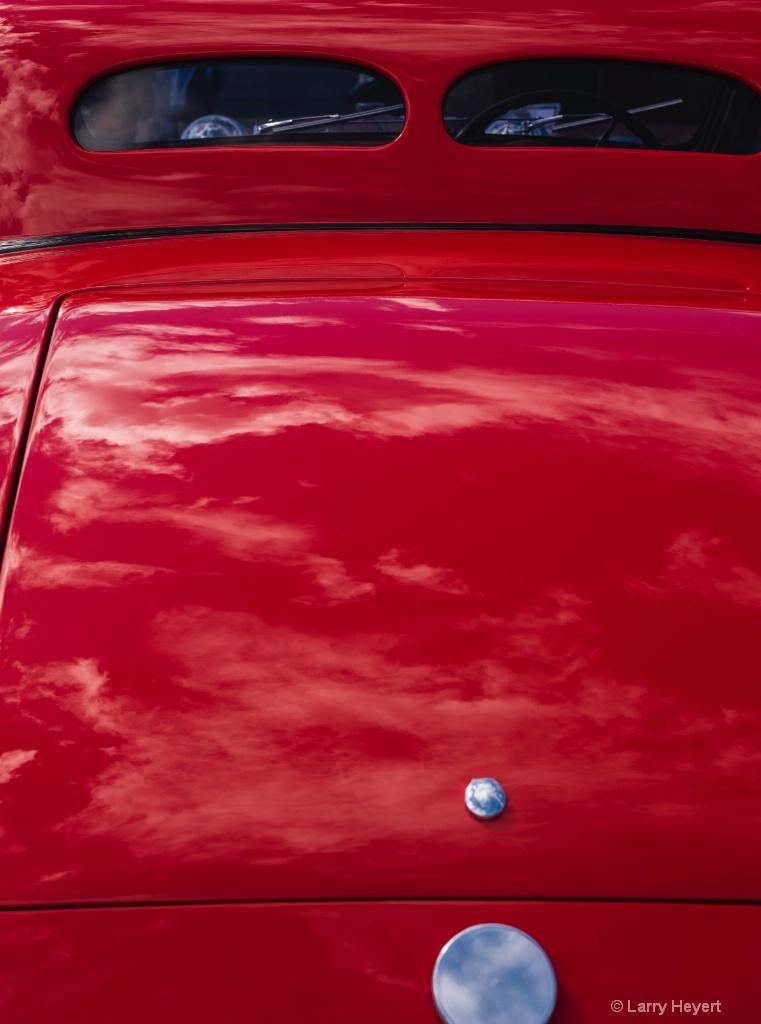 Classic Car in Red