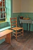Old Fort Western Kitchen Window