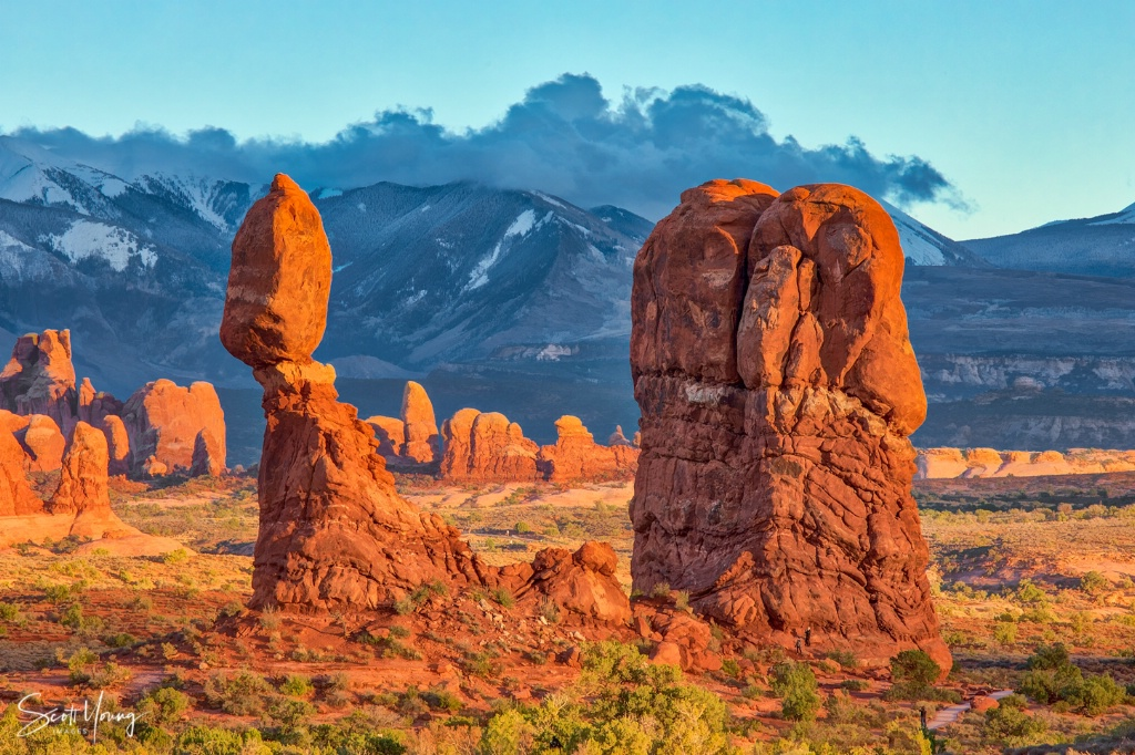 Balanced Rock; Arches National Park, Utah - ID: 15639238 © Richard S. Young