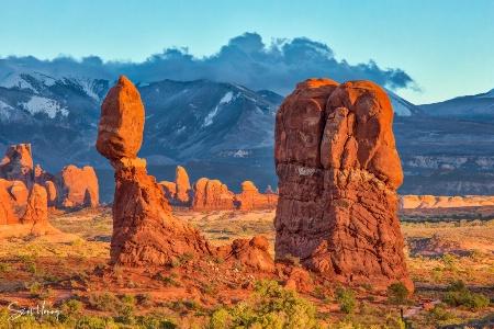 Balanced Rock; Arches National Park, Utah