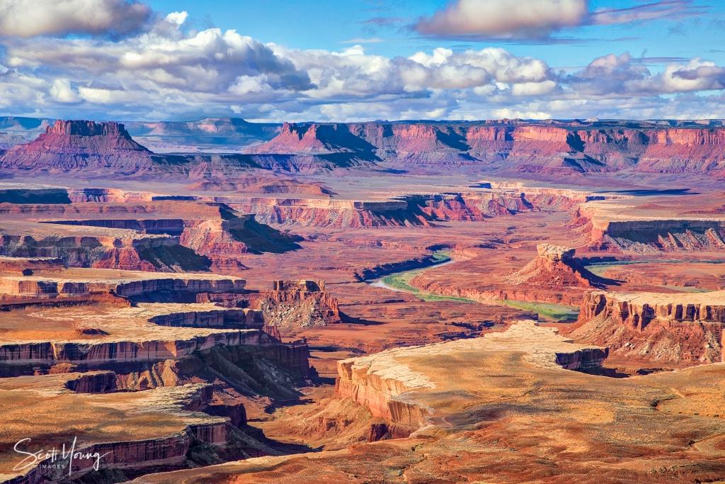 Green River Vista; Canyonlands National Park - ID: 15640146 © Richard S. Young