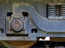Old railcar suspension