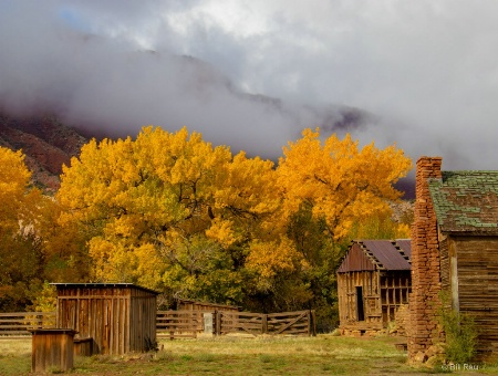 Fall at the old ranch