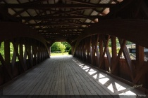 Albany Covered Bridge looking out
