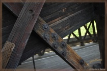 Texture of a Covered Bridge