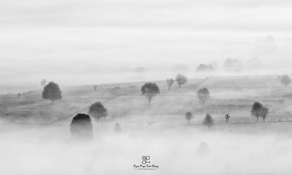 Foggy Scape  - ID: 15641724 © Pyae Phyo Thet Paing